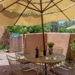 LAS BRISAS Santa Fe Vacation Rentals - Courtyard