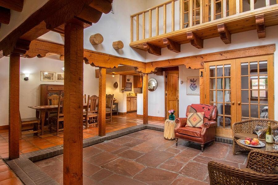 Santa Fe Adobe Rentals at LAS BRISAS